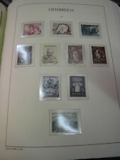 Sammlung, Österreich, 1960-1979 gestempelt, komplett, mit Scans (1199)