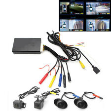 4CH Car HD Seam 360° Panorama System W/Front Rear Left Right Camera for Car DVR