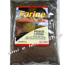farina di pesce ingrediente additivo pastura pesca in mare cefalo sarago orata