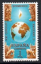 España estampillada sin montar o nunca montada 1965 SG1755 21st Concilio ecuménico, ciudad del Vaticano