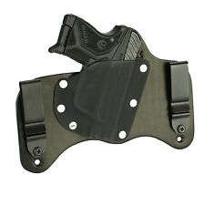 FoxX Holsters Leather & Kydex IWB Hybrid Holster NEW Ruger LCP 2 Black Right
