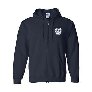 Butler Bulldogs Primary Logo LC Full Zip Hoodie - Navy
