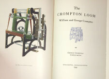 The Crompton Loom.  Textile, Worcester MA factory, industrial revolution history