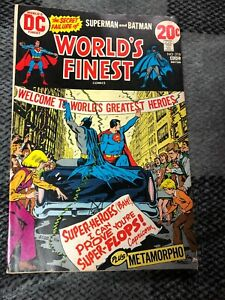 World's Finest  #218 ( Superman & Batman )Aug-19723, DC