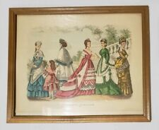 Godey's Fashion Set of Three Vintage Ads