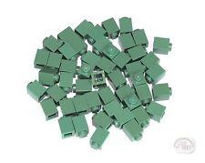 LEGO - 3-Buck Bag - 1x1 Bricks - 50-Pcs - Sand Green - New - (Plate, Tile)