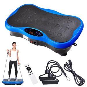 Bluetooth Vibration Machine Platform Plate Vibrator Exercise Fit Gym Home Music