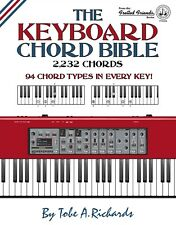 THE KEYBOARD CHORD BIBLE: 2,232 CHORDS 94 CHORD TYPES (New 2017)