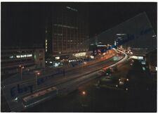 CROYDON THE UNDERPASS night view original postcard Hotels Assocn - Arthur Dixon