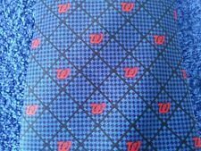 """Walgreens Tie by Career Cravats Blue with the Red """"W"""""""