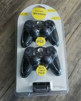 PS2 Psyclone Essentials 2 Wireless Controllers PlayStation 2 w/ Dongles New NIP