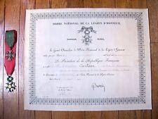 """Evans Carlson """"Raiders"""" WW1 1919 Ordre National De La Legion D'Honneur W/ Medals"""
