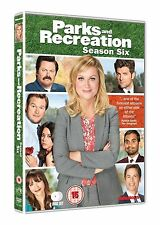 Parks and Recreation Complete Series 6 DVD All Episodes Sixth Season UK NEW R2
