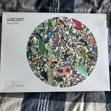 Wacom Intuos Pro Graphics Tablet-Medium-Boxed, Stylus Cable Included. MINT