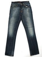 Nudie Homme Slim Fit Pantalon Jeans Grim Tim Contraste Deep Indigo W29 L32