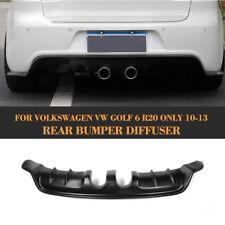 Golf 6 Rear Bumper Diffuser Lip Spoiler For Volkswagen VW Golf  VI MK6 R20 09-12