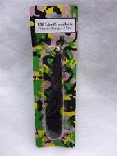"New 150lb Crossbow Polyester String +2 Tips for 27"" Fiberglass Limb 150 lb"