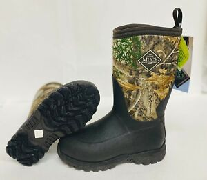 NEW MUCK RG2-RTE KIDS RUGGED II WINTER SNOW BOOTS PERFORMANCE OUTDOOR