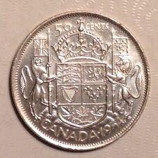 1954 Canada Elizabeth II 50 Cents