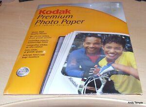 20 Sheets Kodak Premium Photo Paper A4 Ultra Glossy 230gsm 200 microns