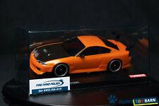 Kyosho MINI-Z Body NISSAN SILVIA S15 equipped with GT Rear Wing MZP413MO Rare
