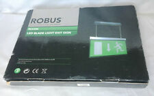 ROBUS RE430M Emergency LED Blade Light Exit Sign
