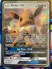 Pokemon Card   EEVEE GX   Ultra Rare SM176  SUN and MOON  PROMO *MINT*
