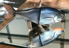Evergreen Es Flat Glide replica-Wild Shad swim bait glide bait