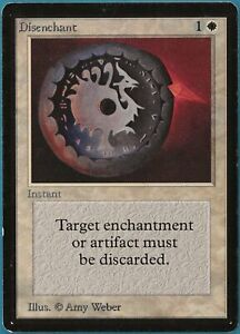 Disenchant Beta PLD White Common MAGIC THE GATHERING CARD (ID# 212087) ABUGames
