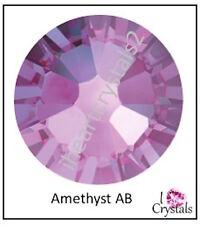 AMETHYST AB Purple 5mm 20ss 12 pieces Swarovski Crystal Flatbacks Rhinestones