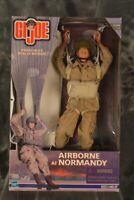 Hasbro 1999 GI JOE AIRBORNE AT NORMANDY with PARACHUTE  NRFB W/ FREE SHIPPING