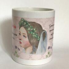 Queen Victoria wedding portrait mug
