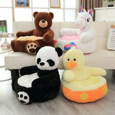 Children's Cartoon Plush Backrest Sofa Creative Cute Panda Tatami Cushion Toy UK