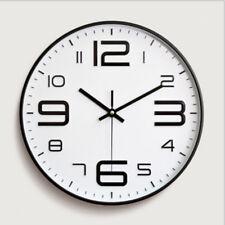 Horloge Murale Suspendu Moderne Motif Ronde Décoration Pour Bureau