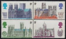 /GB 1969 Cathedrals 5d block4 MNH @B602