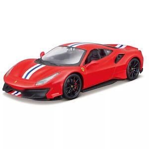 Maisto Assembly Line Ferrari 488 Pista 1:24 scale diecast metal model kit