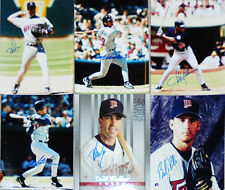 Nice -Minnesota Twins- Autograph/Hand-Signed Baseball Stars 8x10 Photo Lot w/LOA