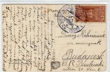 POLAND: 1929 picture postcard to Hungary (C41945)