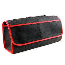 Protección de Cuidado de Coche Organizador Almacenamiento Ordenado Arranque Rojo St bolsa con bolsillos nuevo