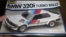 REVELL BMW 318I 320I TURBO RALLY 1/25 Model Car Mountain FS 1981