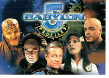 BABYLON 5 PROFILES UNNUMBERED PROMO CARD