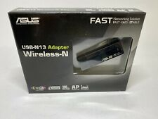 Asus USB-N13 Adapter Wireless-N300 | 300 Mbps Data Rate | Wi Fi Certified