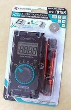 New Kyoritsu Card Type Digital Multimeter Kew 1019r Japan