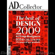 AD Collector No.#1 2009 Achitectural Digest France Special Design Issue - DEBUT
