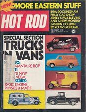 953dbfd1e4 HOT ROD Magazine   August 1973   Trucks  n Vans   IHRA Rockingham   Philly