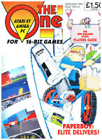 The One - September 1989 - Atari ST Amiga PC - Issue Twelve