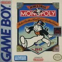Monopoly Nintendo Game Boy