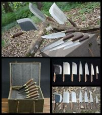 Boutique 7 Pcs Sets Hand Forged Longquan Home Kitchen Knife Chef kitchen Knife