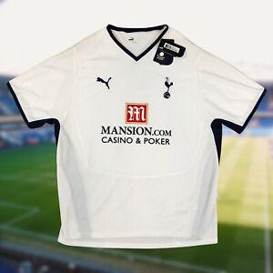 NWT Tottenham Hotspur 2008/09 Home Soccer Jersey 2XL Puma EPL Camiseta Spurs