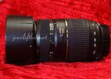 Exc Tamron 70-300mm DI Macro Zoom Lens for Nikon D60 D3000 D3100 D3200 D5100 +